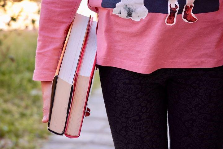 boeken vasthouden
